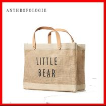 Anthropologie(アンソロポロジー) 子供用トート・レッスンバッグ ★関税込み★Anthropologie 親子コーデ little Bear Tote Bag★