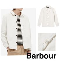 Barbour MARINER LOWESWATER オーバーシャツ チョークホワイト