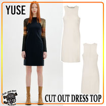 【YUSE:】CUT OUT DRESS TOP