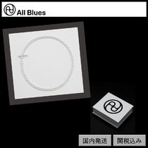 【All Blues】DNA necklace Polished silver 42cm