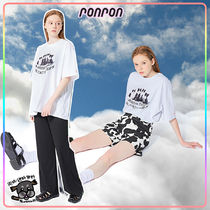 【RONRON】OVER FIT CATS T-SHIRT