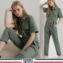 TOMMY JEANS★正規★straight-fit roll-up ジャンプスーツ/追跡