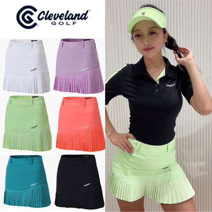 Cleveland Golf 裾プリーツキュロット 6color