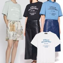 2021SS[ステラマッカートニー]T-Shirt in Cotone Organico 23OBS