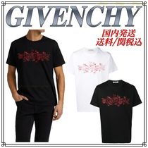 GIVENCHY Schematics ロゴ プリント Tシャツ 国内発/送料/関税込