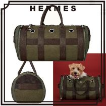 HERMES 小型犬用 ドッグ キャリーバッグ 機内持ち込みサイズ