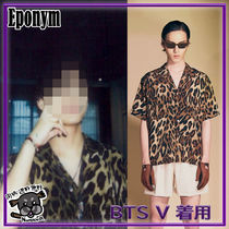 【EPONYM】LIMITED S/S SHIRTS_BROWN LEOPARD ★BTS V着用★