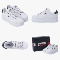 Tommy Hilfiger Iconic Platform Sneakers 身長アップ