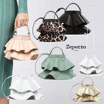 repetto(レペット) ショルダーバッグ・ポシェット repetto☆安心関税込み☆レぺット ミニフリルバッグ