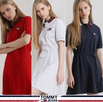 TOMMY JEANS★正規品★Flare flag polo ワンピース/安心追跡付