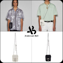 [ANDERSSON BELL]★UNISEX WESTERN CHAIN CROSS BAG