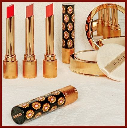 2021春夏*GUCCI*Rouge de Beaute Brillant lipstick 15色展開