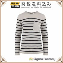 ★S Max Mara★Sequia striped linen pullover