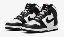 WOMENS NIKE DUNK HIGH BLACK WHITE ナイキ ダンクハイ