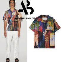 ★ANDERSSON BELL★UNISEX TUNISIA CONVERTIBLE SHIRTS