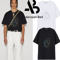 ★ANDERSSON BELL★UNISEX AB ISLAND EMBROIDERY T-SHIRT
