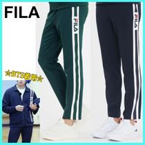 BTS着用!★FILA★ POINT DETAIL TRACK PANTS / 全2色