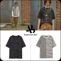 [ANDERSSON BELL]★FABRIC CONTRAST SEOUL 21 T-SHIRTS