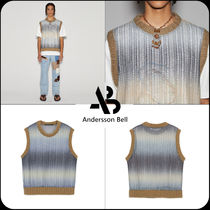[ANDERSSON BELL]★UNISEX CUT&SEWN KNIT VEST