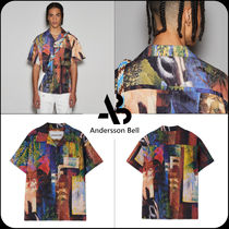 [ANDERSSON BELL]★UNISEX TUNISIA CONVERTIBLE SHIRTS