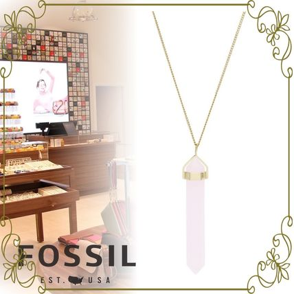 【FOSSIL】POWER OF CRYSTALS ローズピンク 国内公式完売