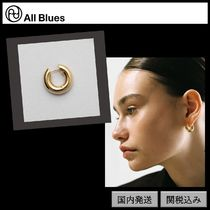 【All Blues】Almost フープピアス GOLD thick シングル