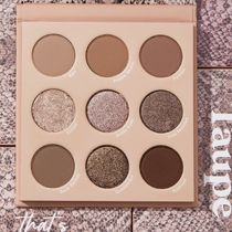 COLOUR POP アイシャドウセット that's taupe