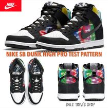 ★入手困難★NIKE SB DUNK HIGH PRO TEST PATTERN / TV SIGNAL