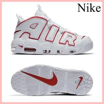 Nike Air more Uptempo'96 スニーカー White/Red 送料込み