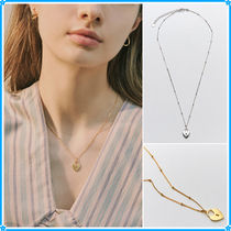 【Hei】both sides heart necklace〜ネックレス★2021春コレ