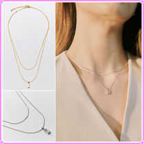 【Hei】baguette layered necklace〜ネックレス★2021春コレ