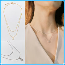 Hei(ヘイ) ネックレス・チョーカー 【Hei】baguette layered necklace~ネックレス★2021春コレ