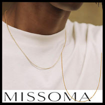 MISSOMA(ミッソマ) ネックレス・チョーカー 【MISSOMA】Gold box link チェーンネックレス