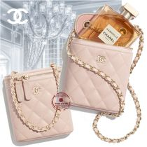 21CR 海外直営 CHANEL 新作☆Classic Vanity with Chain ポーチ
