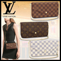 【LOUIS VUITTON】ポシェット・フェリシー チェーンウォレット