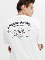 GROOVE RHYME(グルーヴライム) Tシャツ・カットソー GROOVERHYME*THE YOUNGEST PUPPY T-SHIRTS