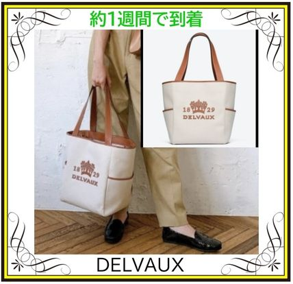 【DELVAUX】Delight Tote Canvas トートバッグ