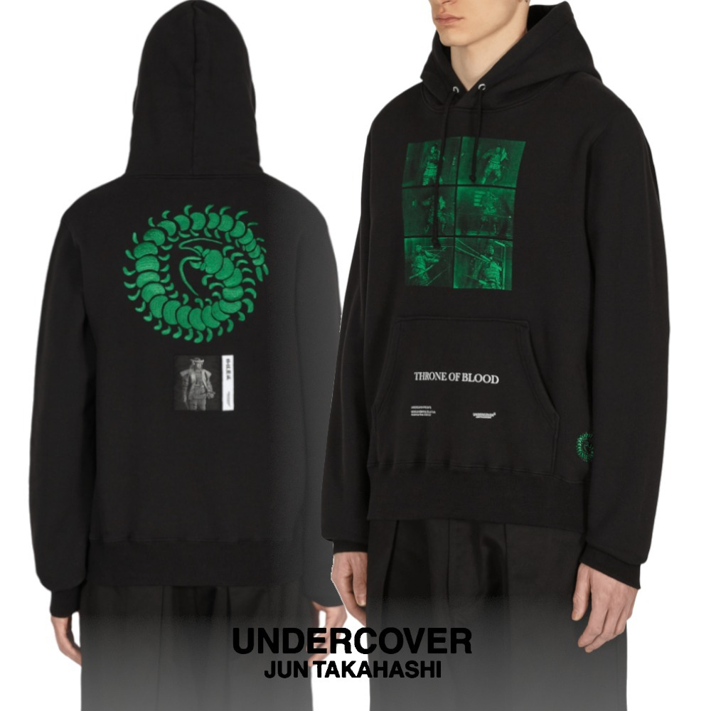 *UNDERCOVER*大人気!在庫少THRONE OF BLOODフードパーカー BLACK (UNDERCOVER/パーカー・フーディ) 68471865