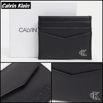 【Calvin Klein】Jeans ロゴ入り カード入れ付き コインケース♪