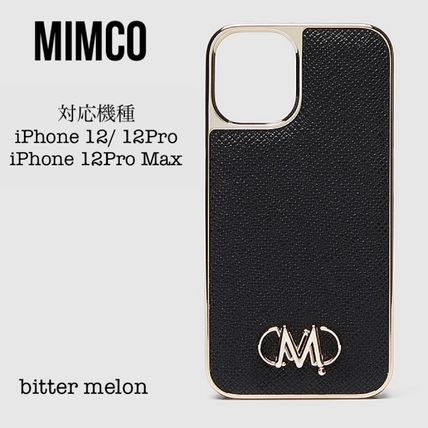 【MIMCO ミムコ】上品 UNITE HARD CASE iPhone12/12Pro 12ProMax