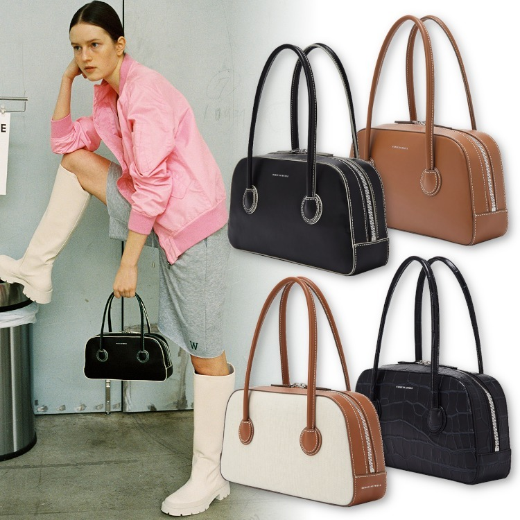 【Margesherwood】BESSETTE  TOTE◆レザー ミニ ハンドバック (MARGE SHERWOOD/ハンドバッグ) 68479940