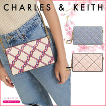 【CHARLES & KEITH】チェーン付きロングウォレット☆