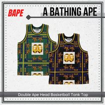A BATHING APE(アベイシングエイプ) その他 {BAPE} Double Ape Head Basketball Tank Top 送料関税込