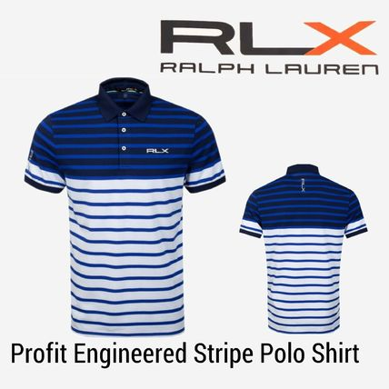 NEW【RLX】Profit Engineered Stripe Polo Shirt