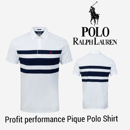 注目 Polo Ralph Lauren Profit Performance Pique Polo shirt