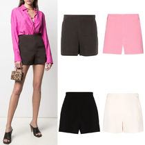 V2244 STRETCH CREPE COUTURE SHORTS