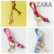 ZARA【NEW】KNOTTED LEATHER KEY RING
