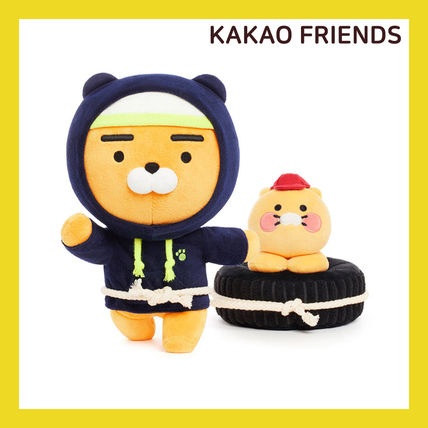 【KAKAO FRIENDS】腹筋 Ryan & 助敎 Choonsik Soft Toy