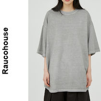 Raucohouse(ラウコハウス)★ Washed Dying Over T-Shirt