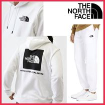 【The North Face】 Box NSE セットアップ メンズ ホワイト☆